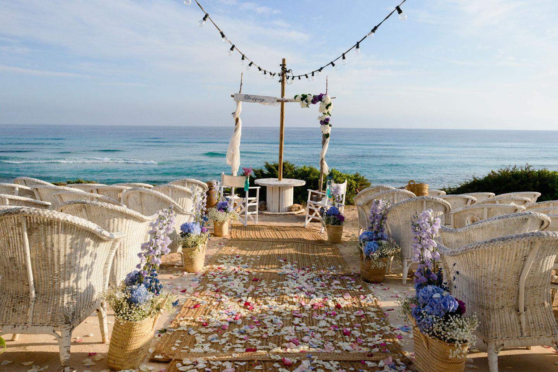 Matrimonio Spiaggia Formentera : Formentera weddings at beach restaurant the place